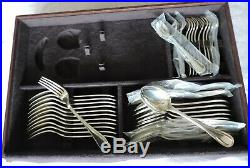 Superbe Menagere En Metal Argente Modele Albi Christofle 110 Pieces En Coffret