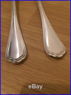 Superbe SERVICE A LEGUMES VIANDE signé CHRISTOFLE modèle SPATOURS métal argenté